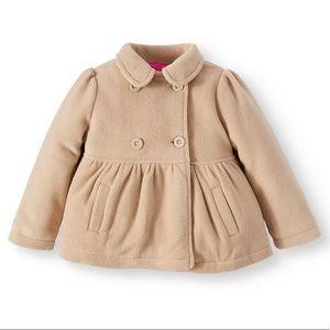 Girl's Lavender Essentials Pea Coat